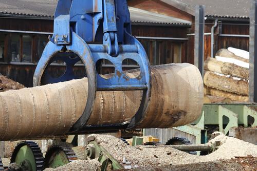 Filtrowentylacja przemysł drzewny