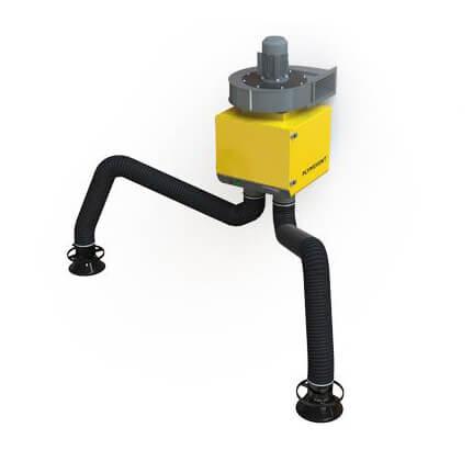 Filtry stanowiskowe GoLine urządzenia stacjonarne spawanie urządzenie DualGo DualGoPlus odpylanie dymów spawalniczych